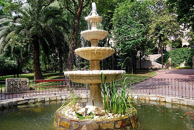 Jos miguel de orueta y michelena eb2gev fuente de los for Jardines de bilbao